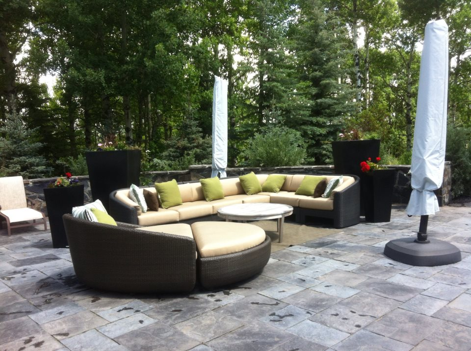 CityScape Landscaping Calgary - Patio Landscaping - Lounge Landcaping - Construction Landscaping