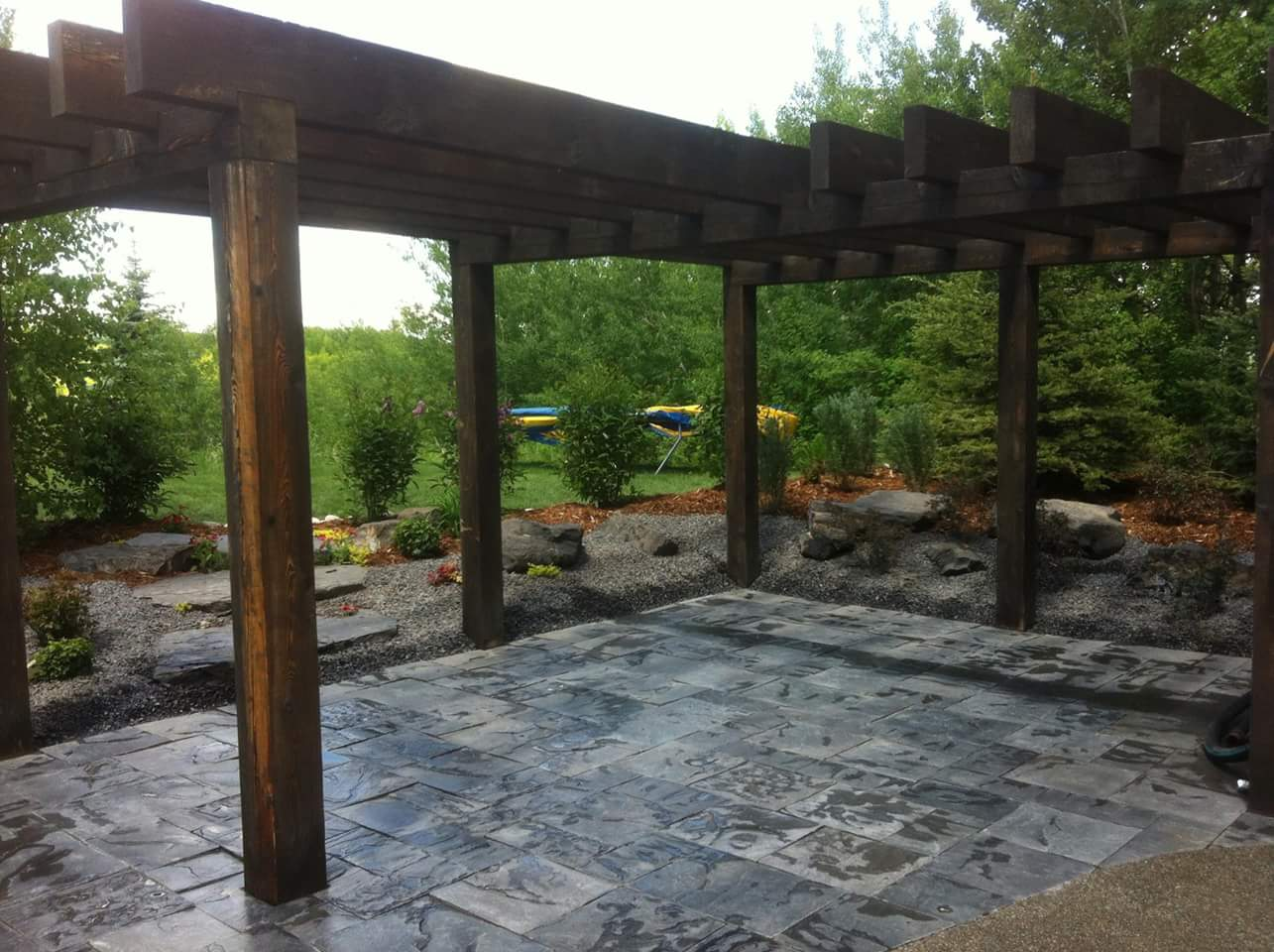 CityScape Landscaping Calgary - backyard patio design / construction Landscaping calgary